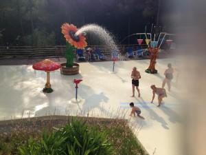 Wasser Spielplatz