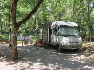 Camping bei Siena