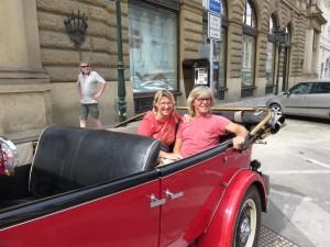 Oltimerfahrt in Prag