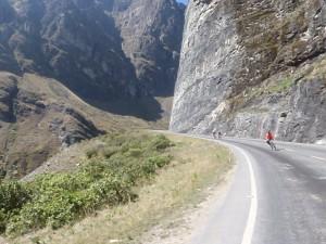 die ersten 28 km Asphalt