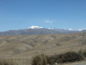 Richtung Colca Tal