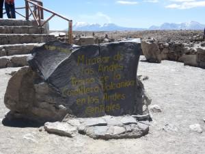 Höchster Punkt 4910 m