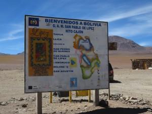 Grenzübergang nach Chile