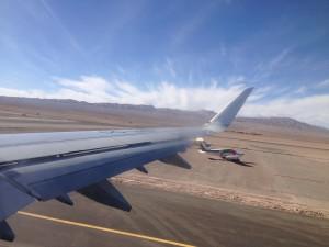Flug von Calama