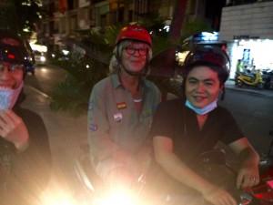 Unterwegs mit Hieu -unser Gastgeber